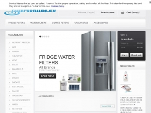 Modern and solid fridge water filters